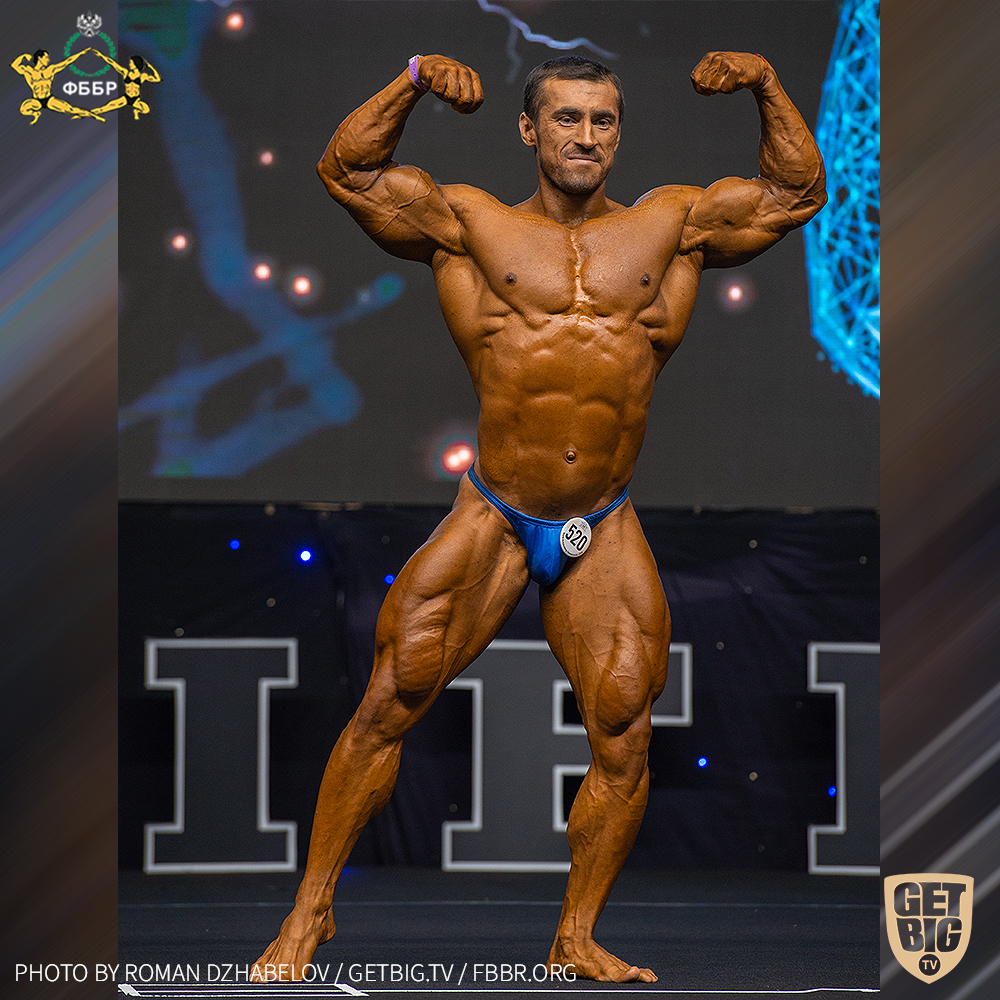 Усейн Салимов - 2 место на Чемпионате мира по бодибилдингу - 2019 в категории 90 кг!