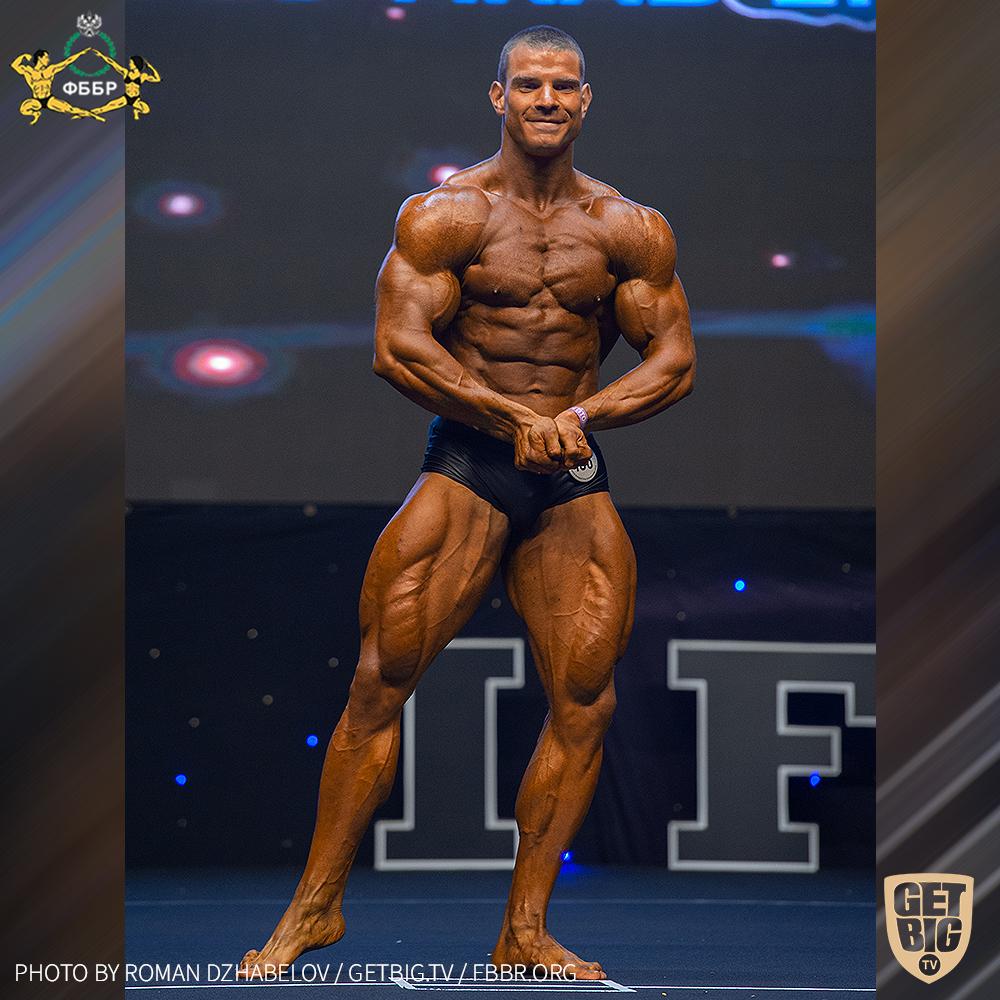Роман Халиулин - 1 место на Чемпионате мира IFBB - 2019 (Men Classic Physique 180 cm)