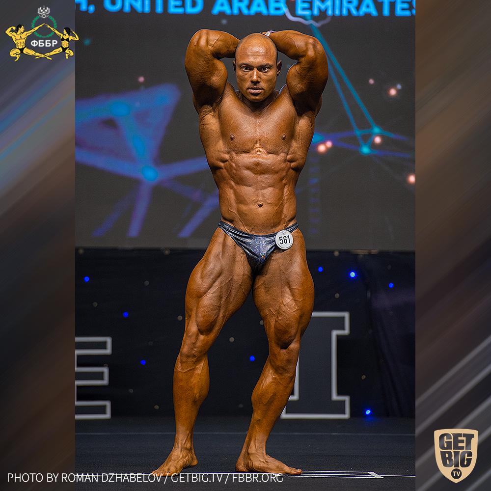 Алексей Горелик - 5 место на Чемпионате мира по бодибилдингу - 2019 в категории до 95 кг