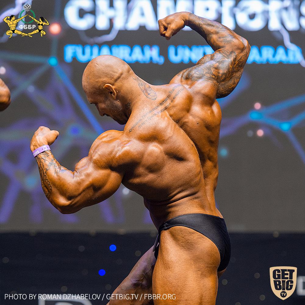 Иван Зевякин - 6 место на Чемпионате мира по бодибилдингу - 2019 в категории до 100 кг