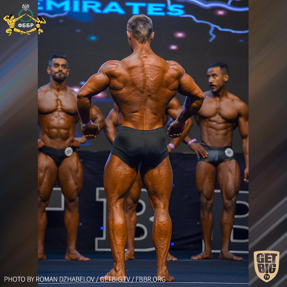 Андрей Шмидт - 6 место на Чемпионате мира IFBB - 2019 (Men Classic Physique 180 cm)