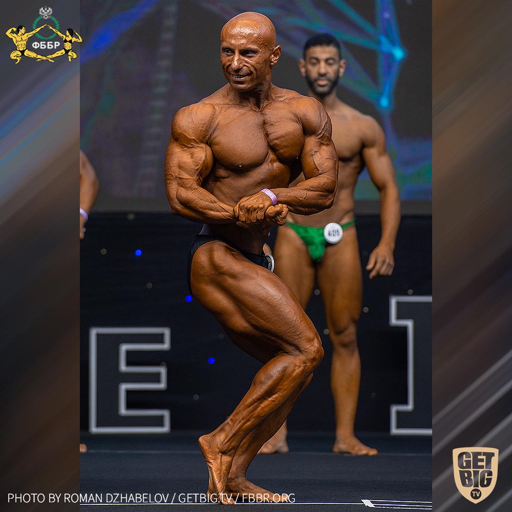 Александр Степанов на Чемпионате мира по бодибилдингу - 2019 в категории до 70 кг