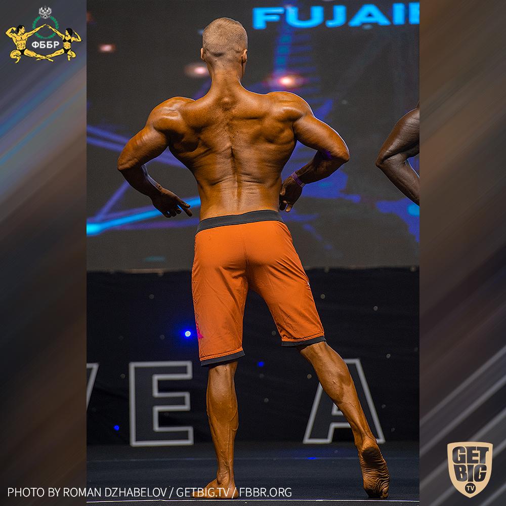 Юрий Васенёв - 7 место на Чемпионате мира IFBB - 2019 (Men's Physique over 182 cm)