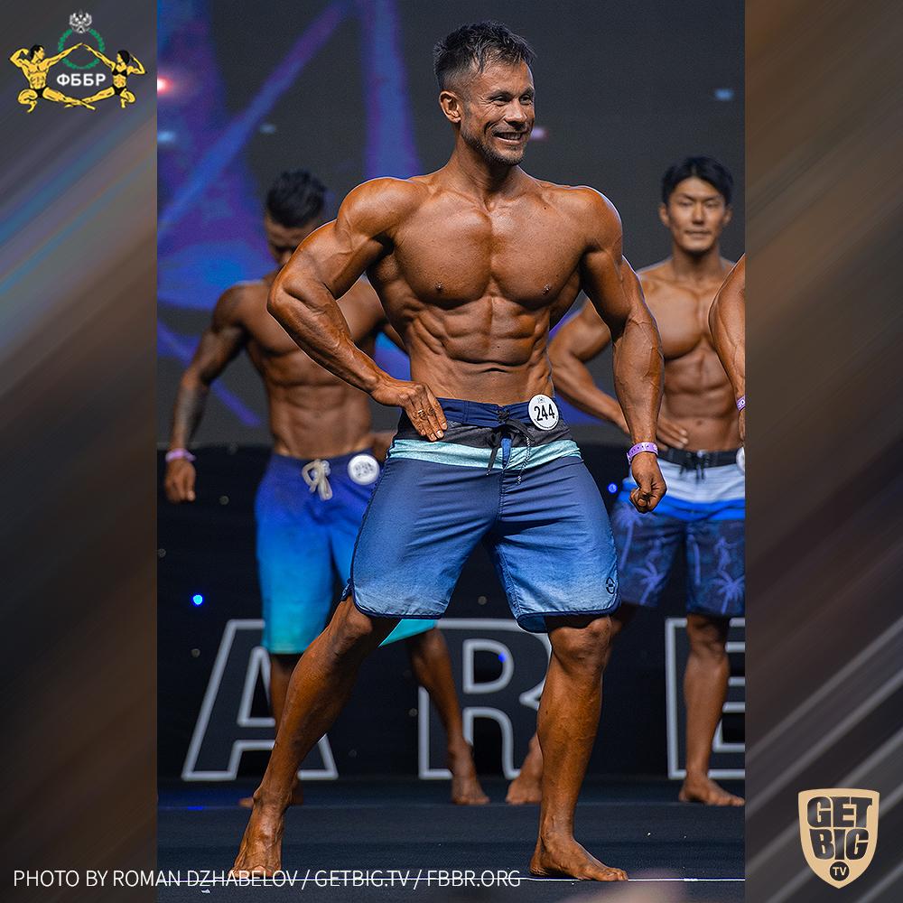 Ленар Гаетов на Чемпионате мира IFBB - 2019 (Men's Physique 173 cm)