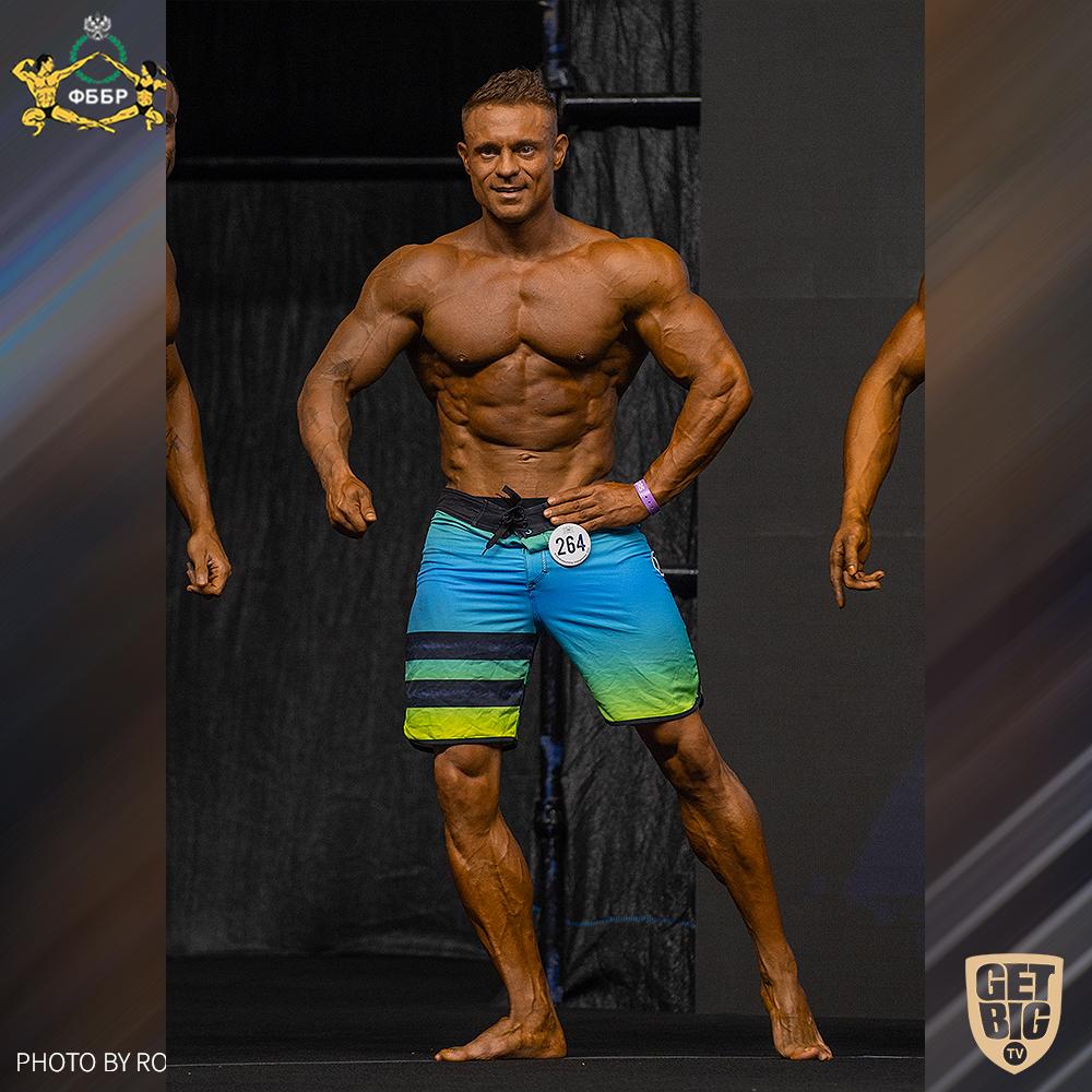 Алексей Розенберг на Чемпионате мира IFBB - 2019 (Men's Physique 173 cm)