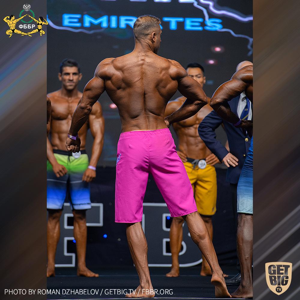 Андрей Фесик на Чемпионате мира IFBB - 2019 (Men's Physique over 182 cm)