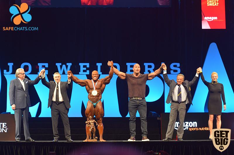 «Олимпия»-2016 при еще едином IFBB