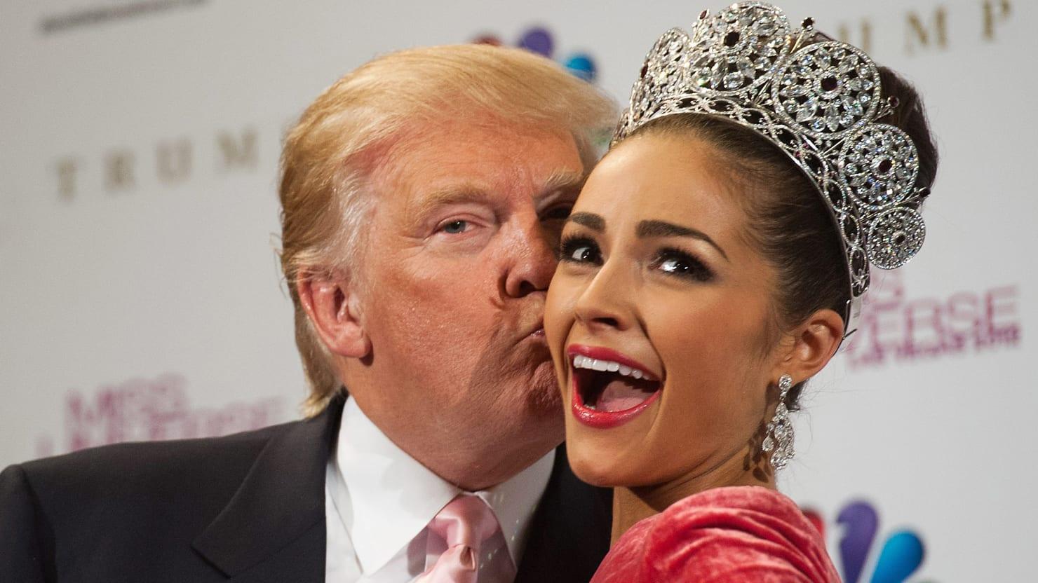 Дональд Трамп - известный поклонник женской красоты!