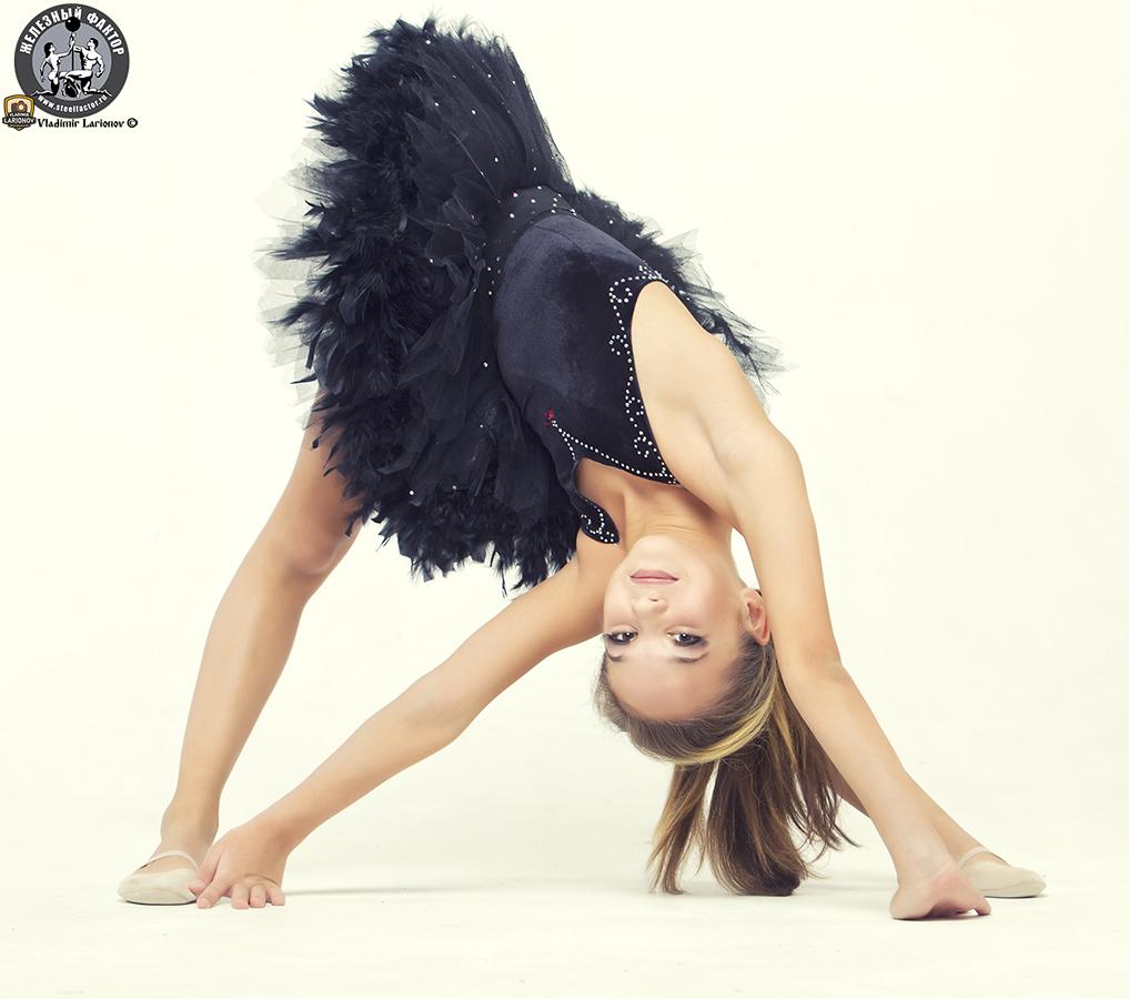 Ульяна Тёсова – яркая представительница детского фитнеса