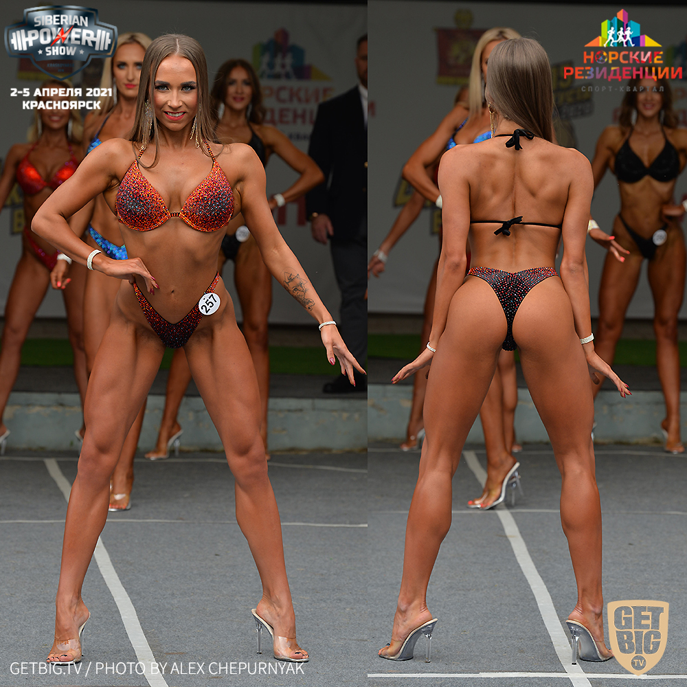 ТОП-3 фитнес-бикини 169+ на Кубке Вятского - 2020