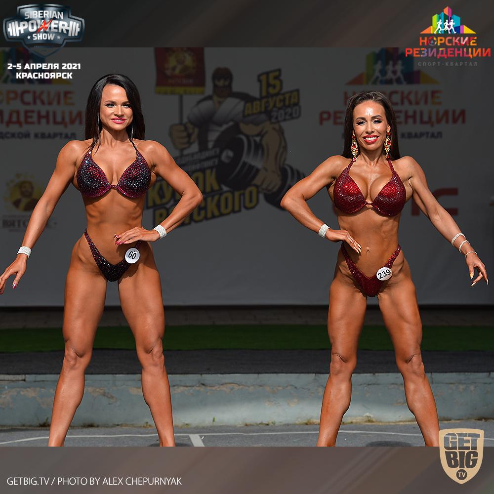 ТОП-3 фитнес-бикини мастера на Кубке Вятского - 2020