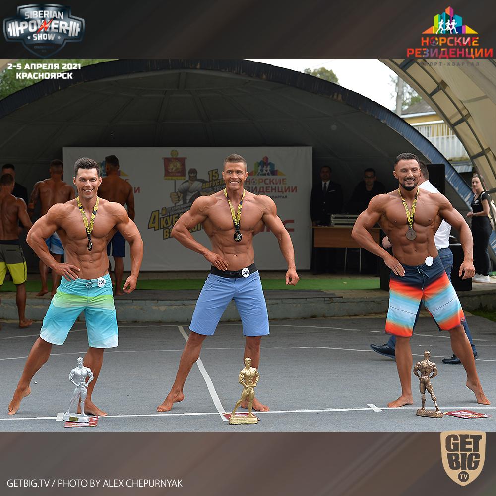 ТОП-3 пляжного бодибилдинга на Кубке Вятского - 2020