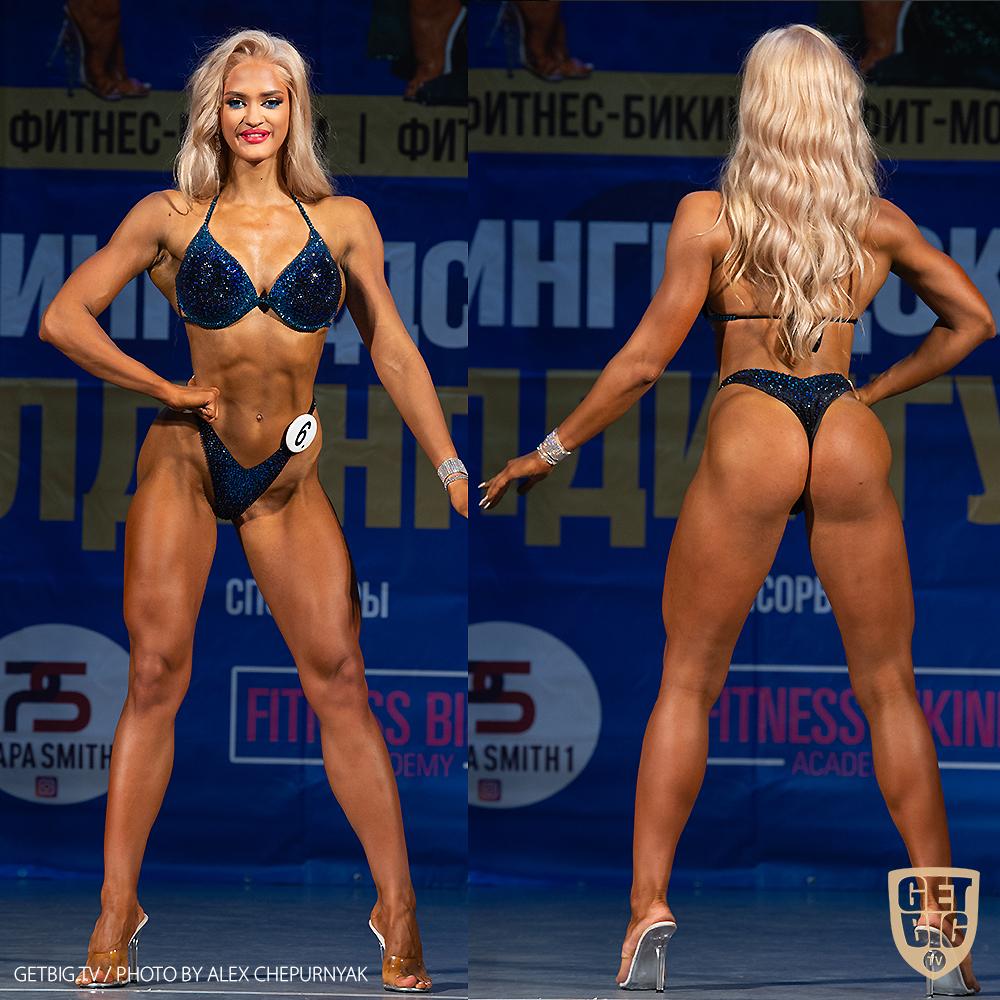 ТОП-3 Фитнес-бикини +169 см: Кристина Кудинова (#6)