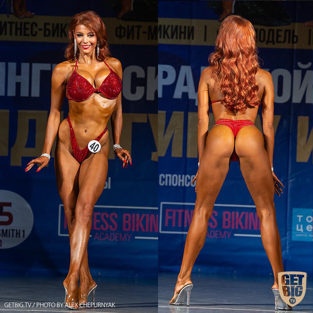 ТОП-3 Фитнес-бикини +169 см: Анна Котова (#40)