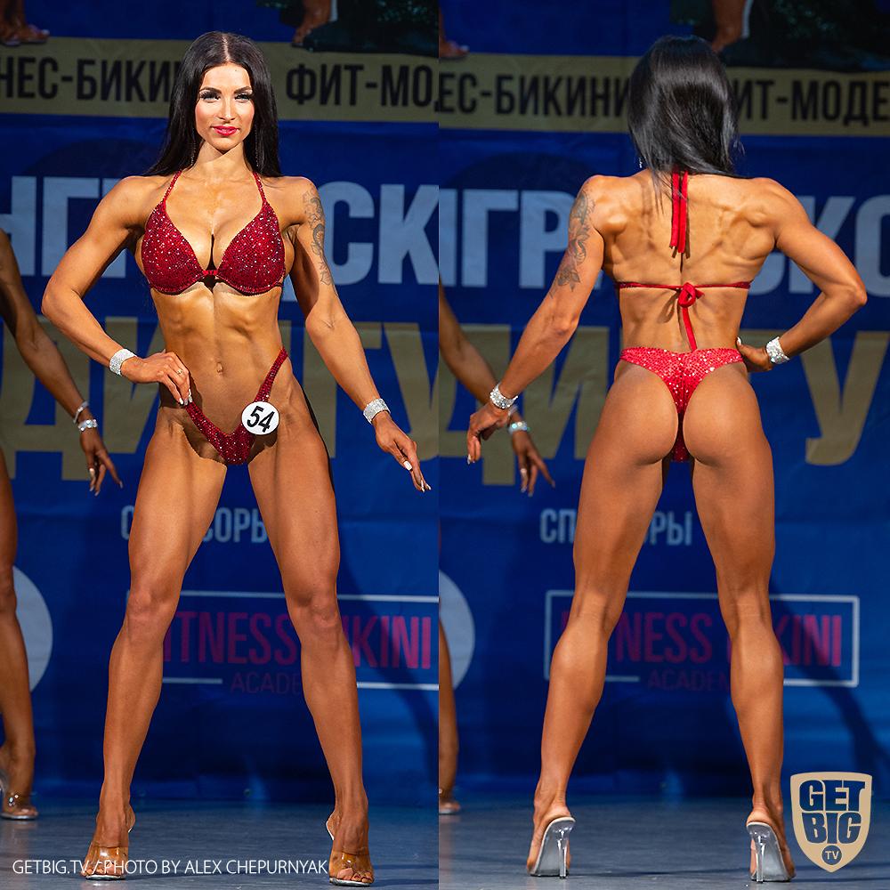 ТОП-3 Фитнес-бикини +169 см: Мария Лазуренко (#54)