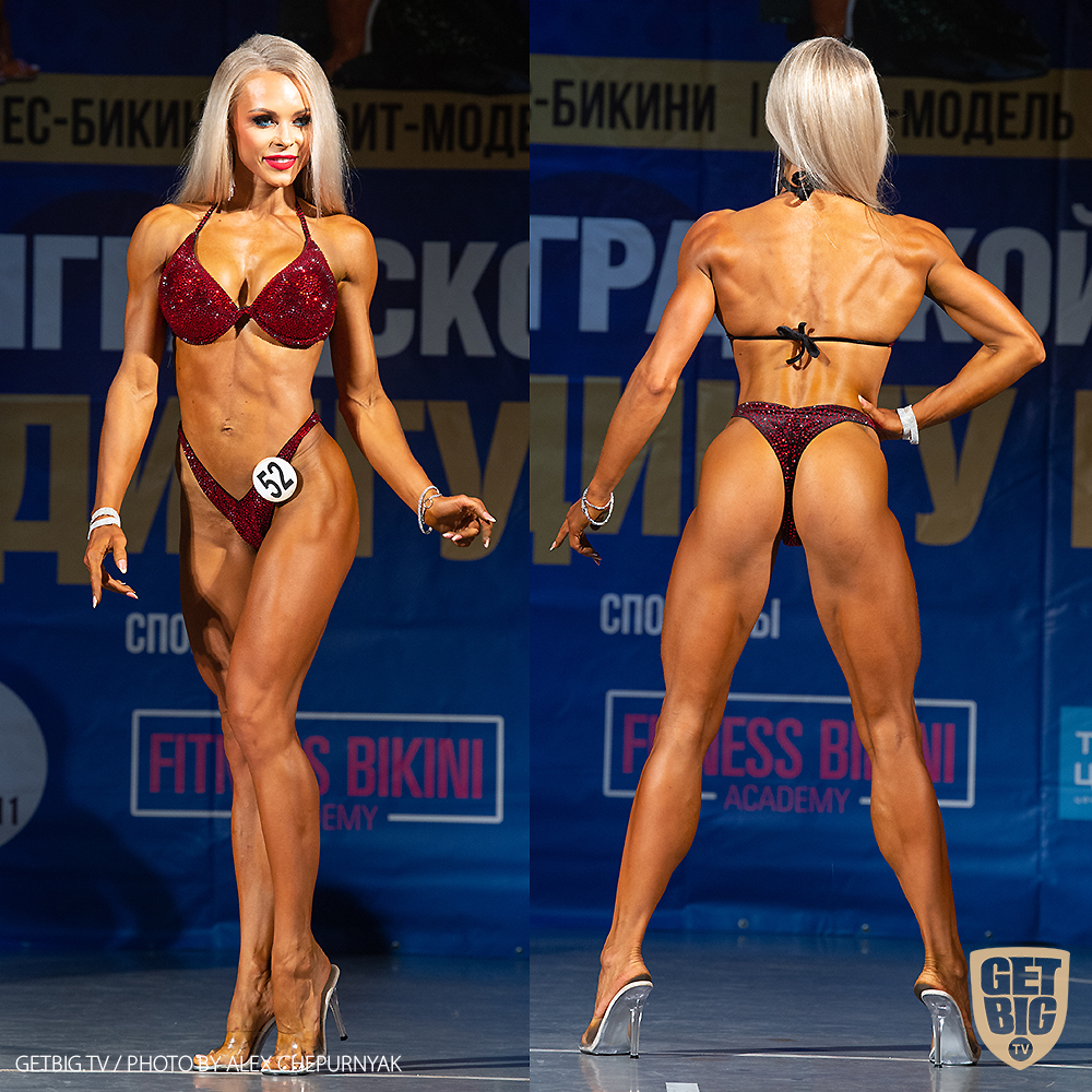 ТОП-3 Фитнес-бикини 164 см: Яна Белянская (#52)