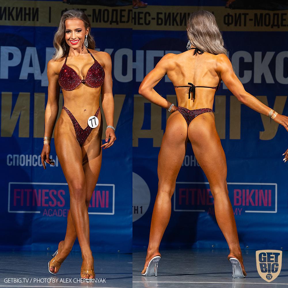 ТОП-3 Фитнес-бикини 164 см: Маргарита Слободенюк (#77)