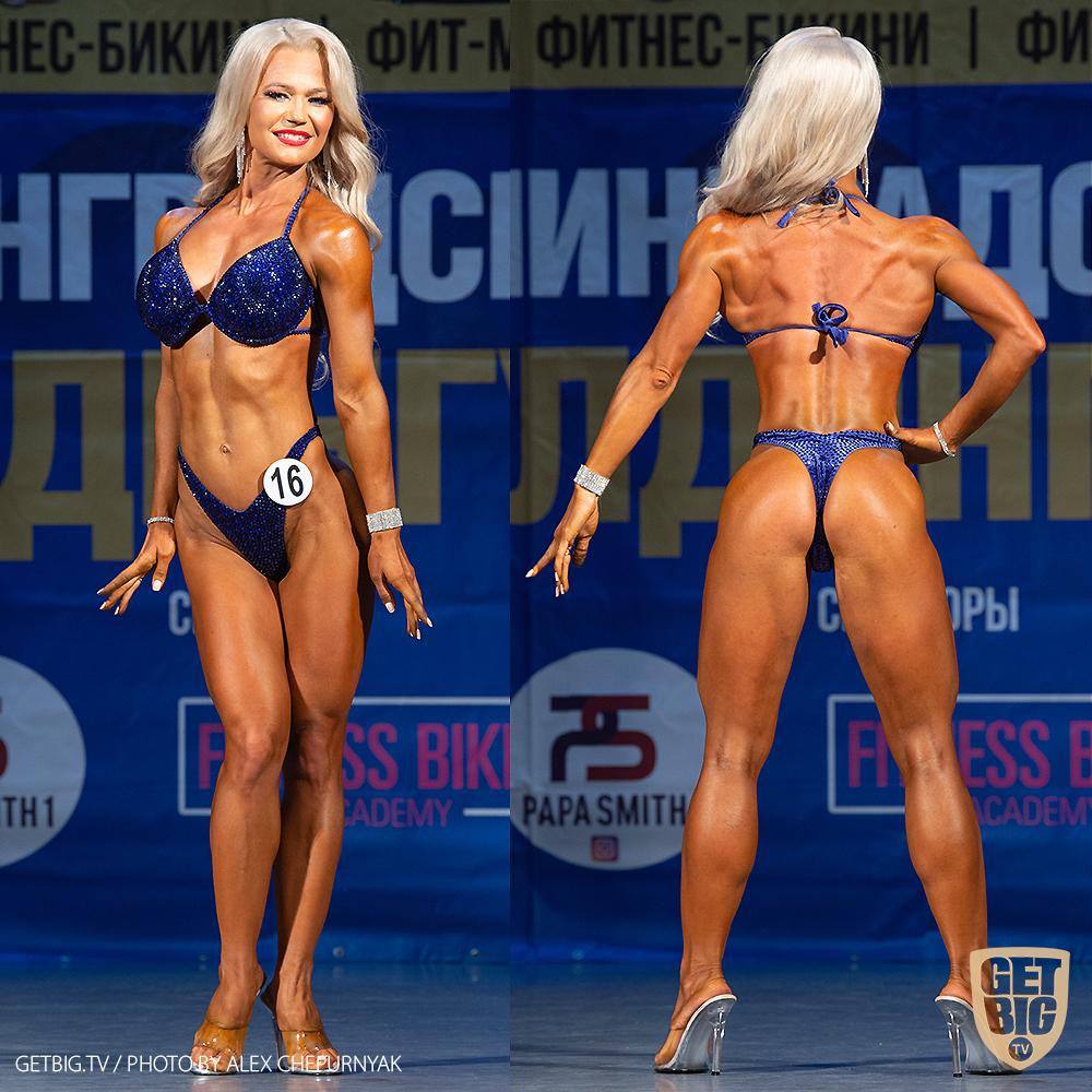 ТОП-3 Фитнес-бикини 164 см: Надежда Журавлева (#16)