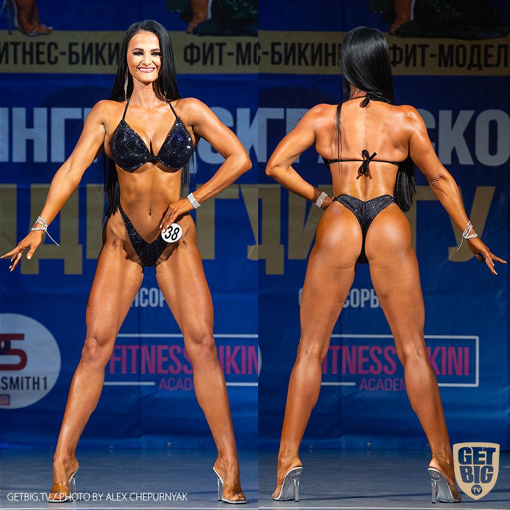 ТОП-3 Фитнес-бикини 169 см: Юлия Смирнова (#38)