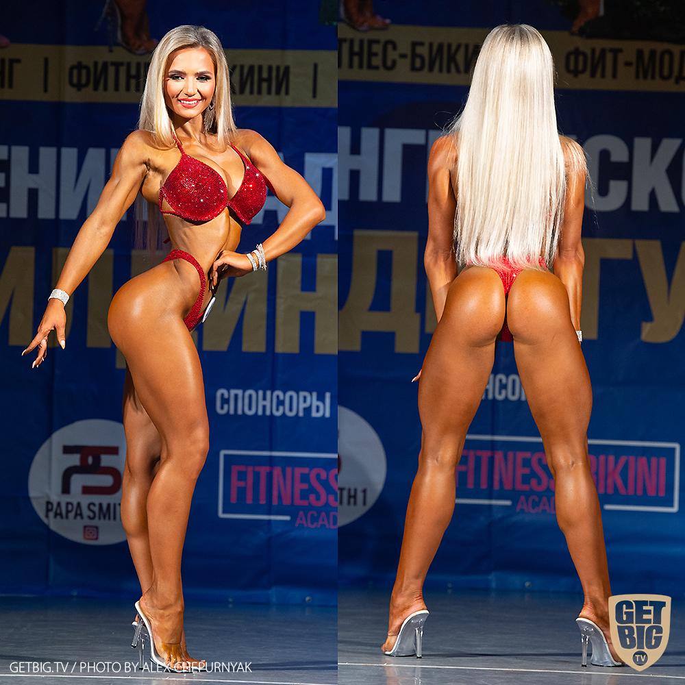 ТОП-3 Фитнес-бикини 169 см: Елена Мосина (#41)