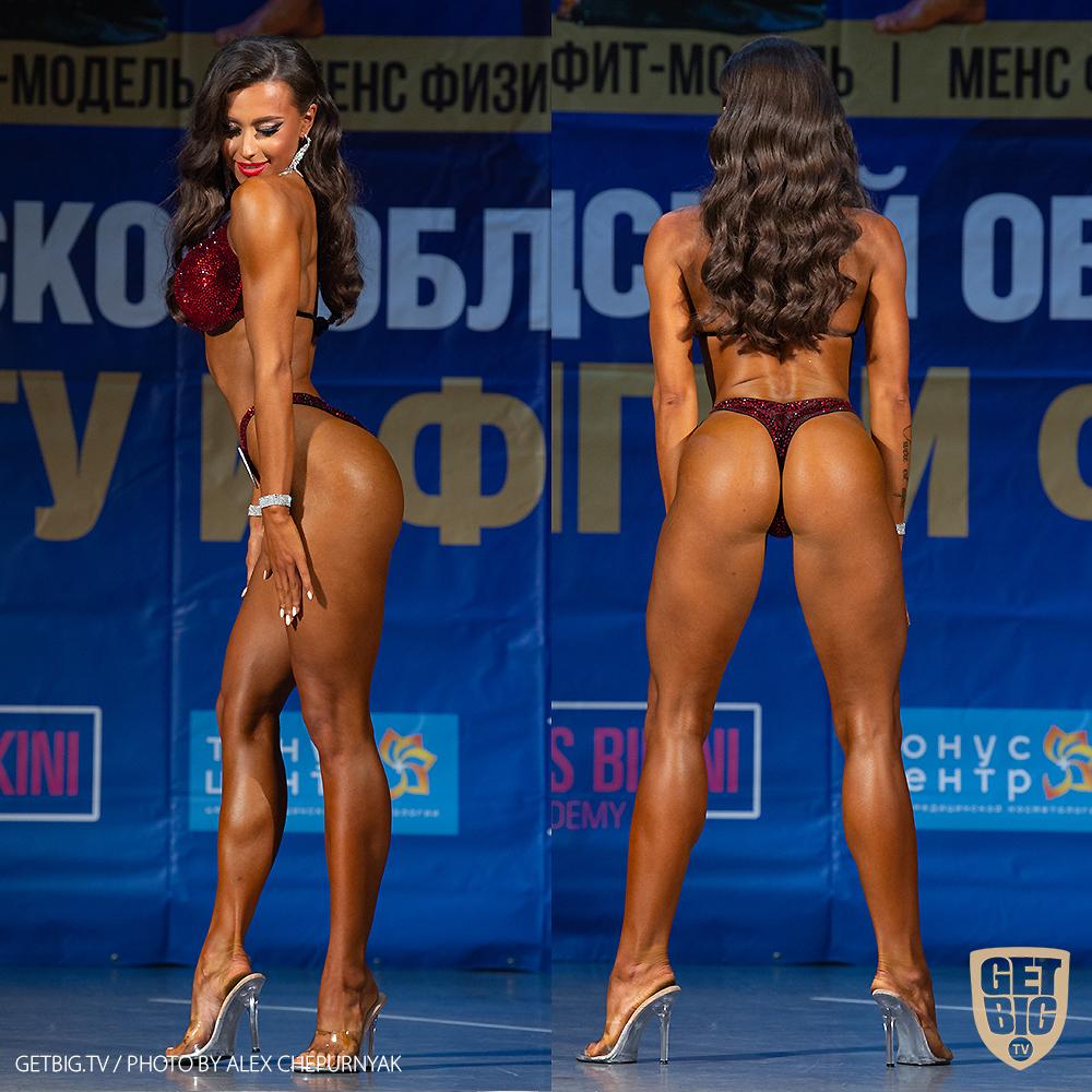 ТОП-3 Фитнес-бикини 169 см: Татьяна Семенилкина (#44)