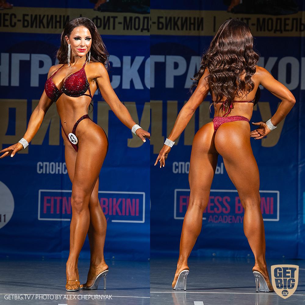 ТОП-3 Фитнес-бикини 160 см: Ирина Труфанова (#43)