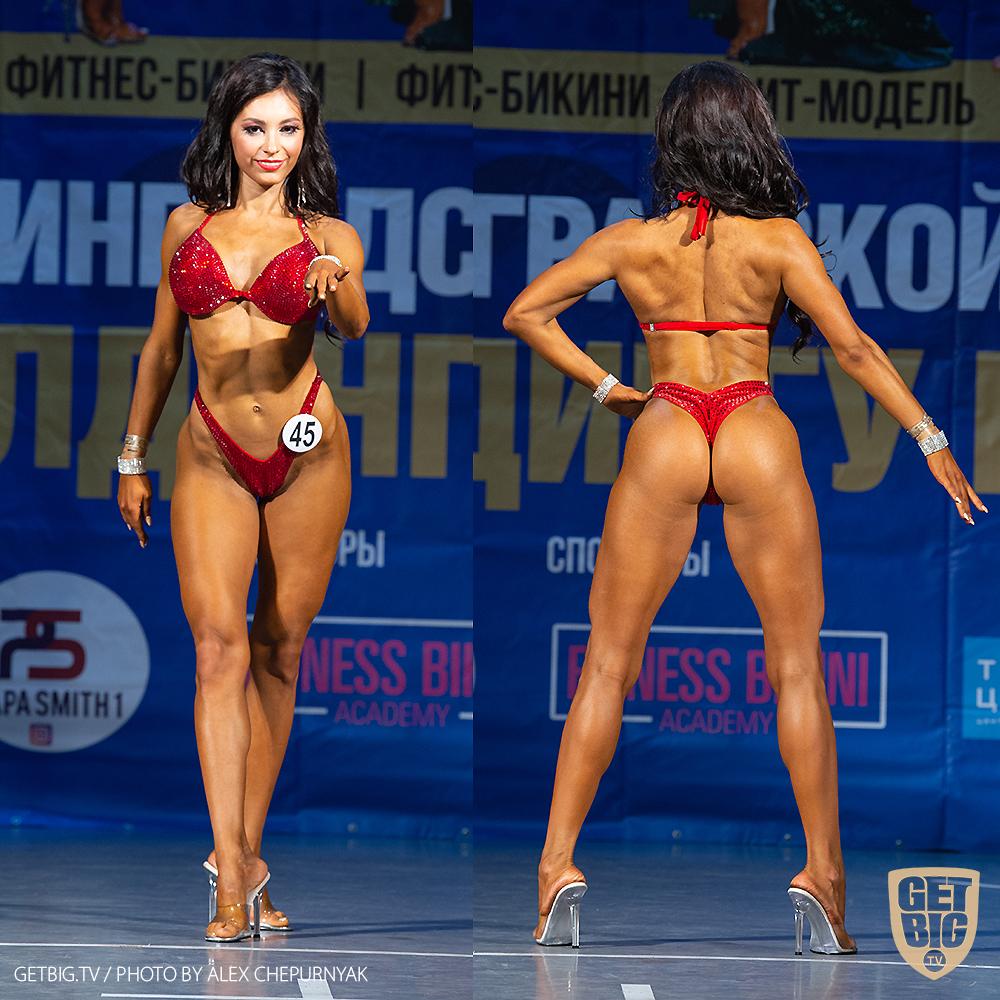 ТОП-3 Фитнес-бикини 160 см: Полина Железнова (#45)