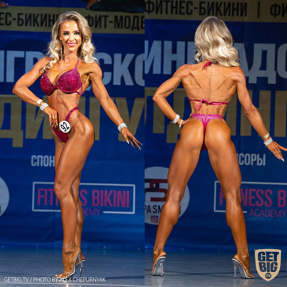 ТОП-3 Фитнес-бикини 160 см: Валерия Малай (#92)