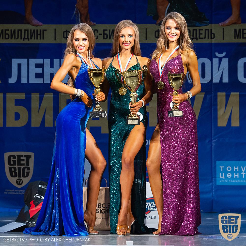 ТОП-3 Фит-моделей: Анна Попова (#31), Наталия Попова (#125), Анастасия Мороз (#60)