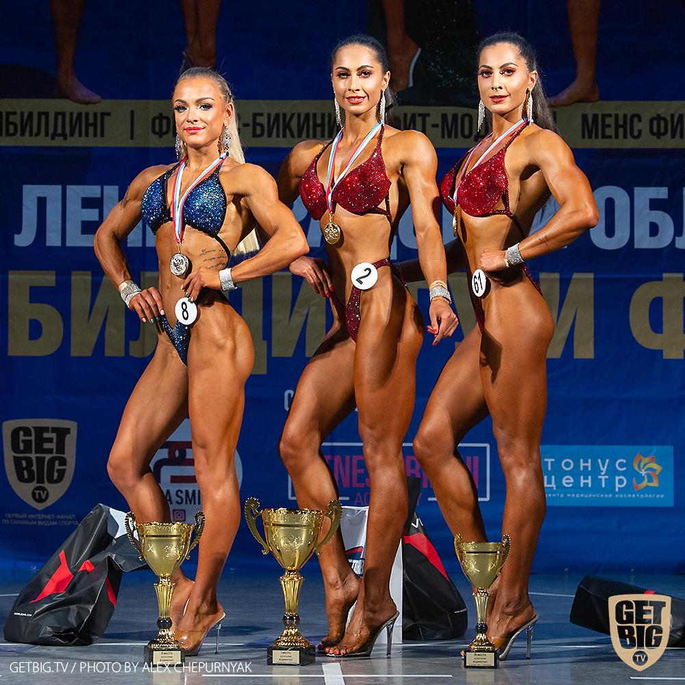 ТОП-3 Бодифитнеса: Мари Хачатрян (#2), Анна Виткалова (#8), Анна Хачатрян (#61)