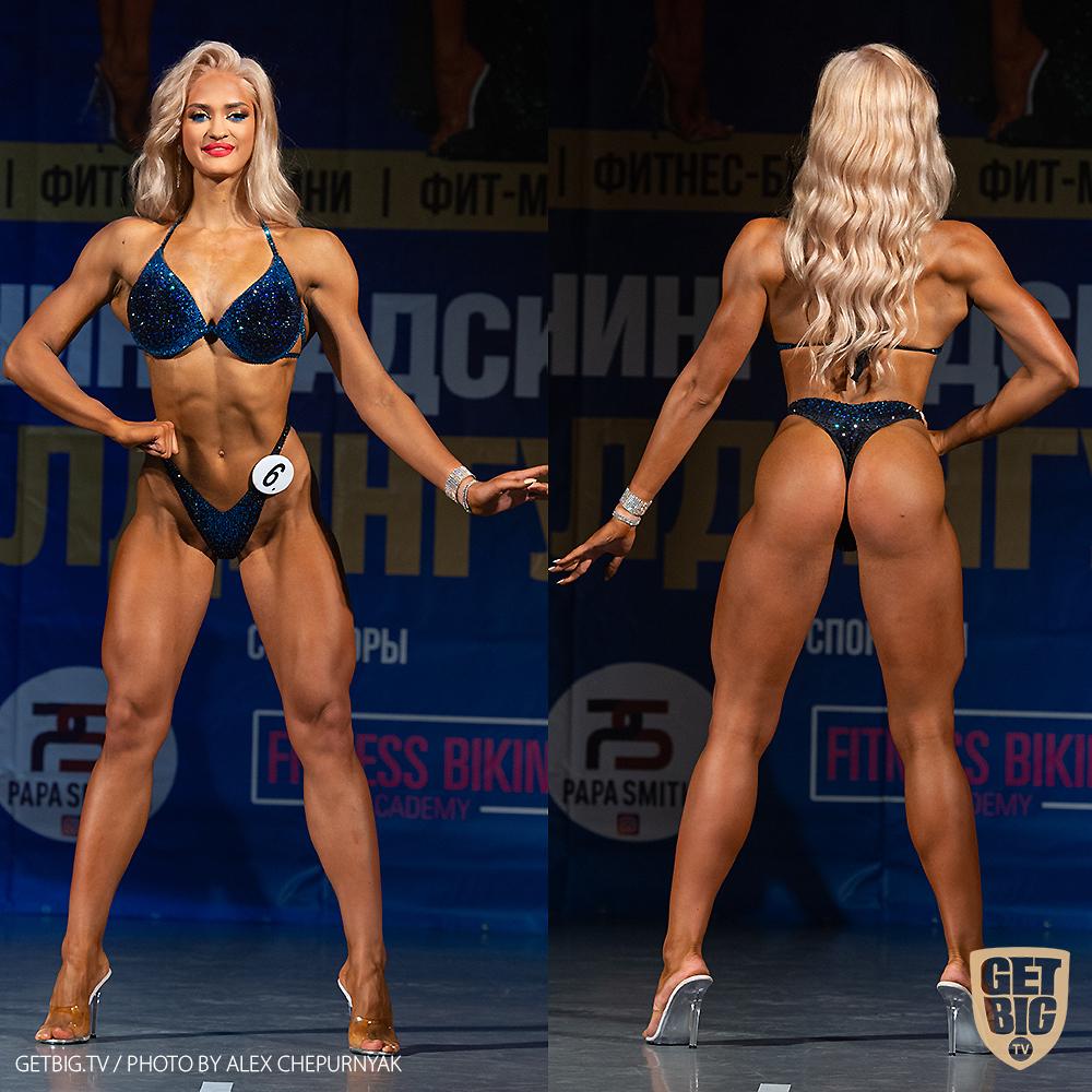 ТОП-3 фитнес-бикини юниорки: Кристина Кудинова (#6)