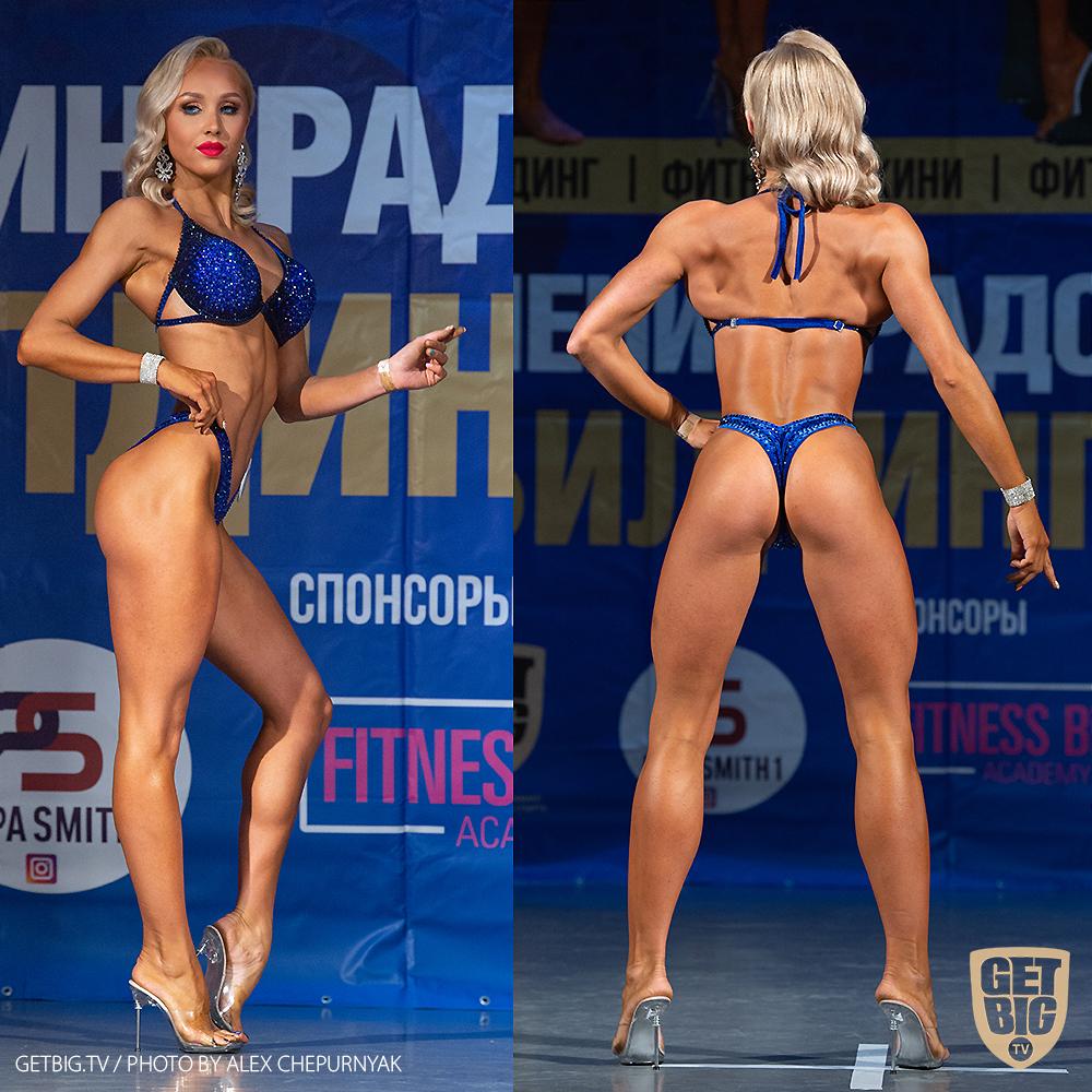 ТОП-3 фитнес-бикини юниорки: Виктория Власова (#1)