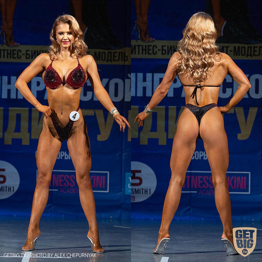 ТОП-3 фитнес-бикини юниорки: Елизавета Золотарева (#4)