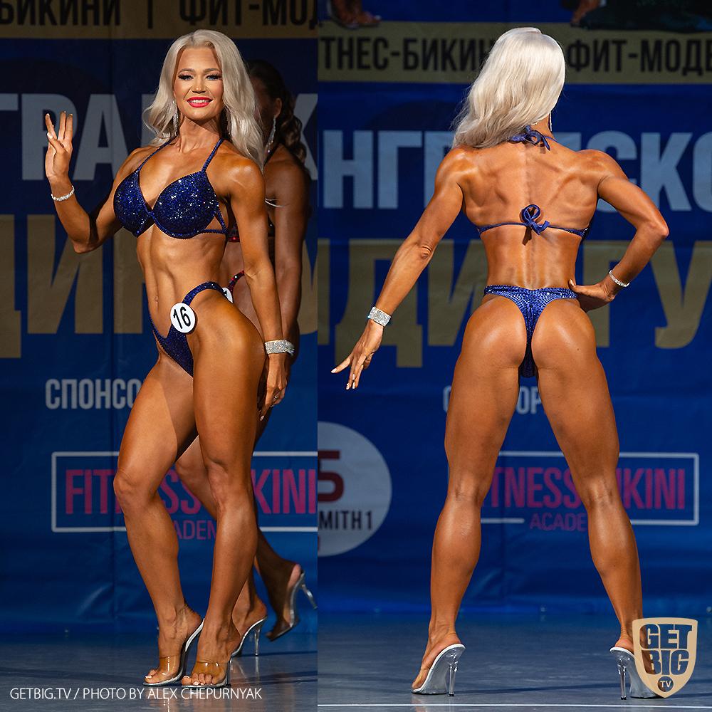 ТОП-3 фитнес-бикини мастера: Надежда Журавлева (#16)