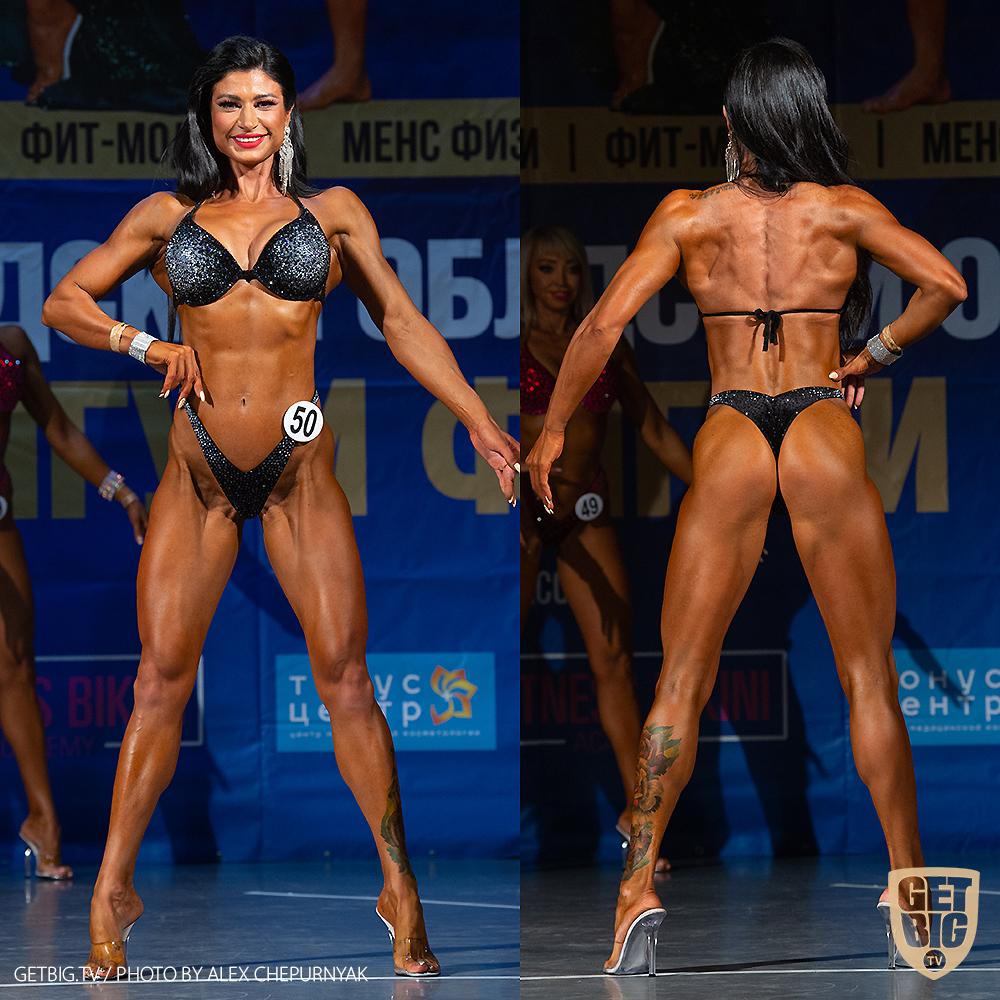 ТОП-3 фитнес-бикини мастера: Евгения Рупосова (#78)