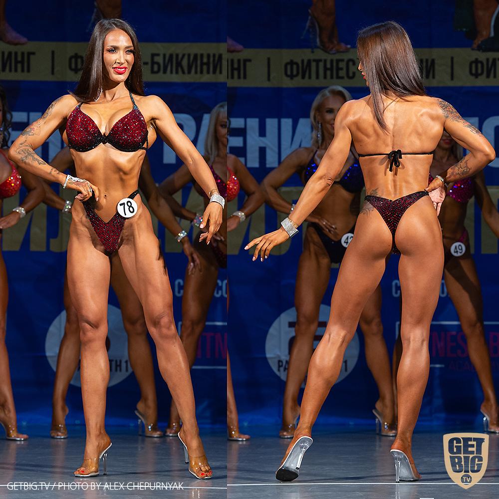 ТОП-3 фитнес-бикини мастера: Валерия Быстрых (#50)