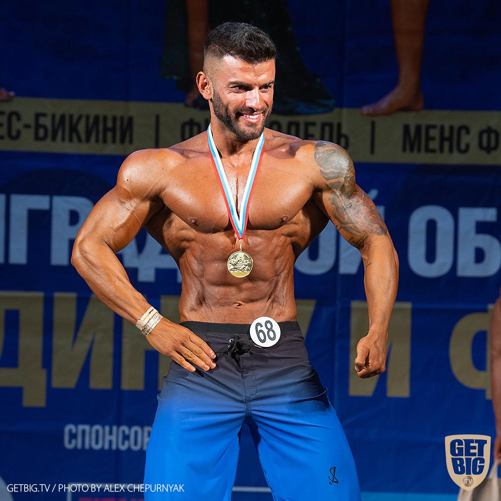 Пляжный бодибилдинг до 178 см - Эмир Сафаров, абсолютный чемпион