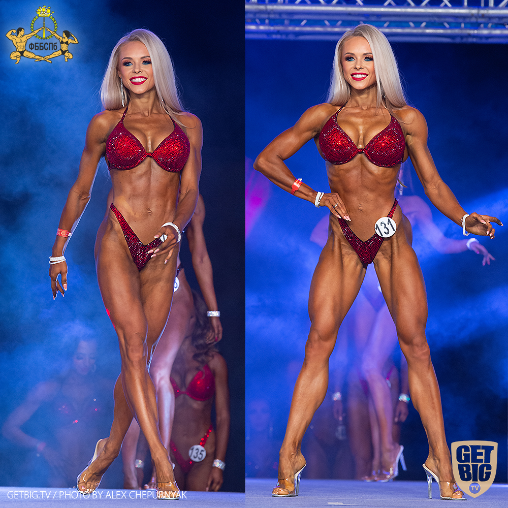 Яна Белянская - абсолютная чемпионка Санкт-Петербурга (фитнес-бикини) - 2020
