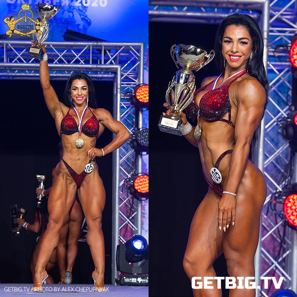 Елена Сандаевская - чемпионка Санкт-Петербурга (велнес-фитнес) - 2020