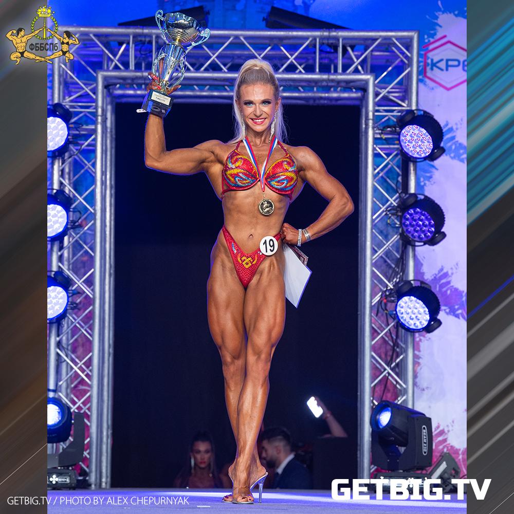 Екатерина Петрова - абсолютная чемпионка Санкт-Петербурга - 2020 (бодифитнес)