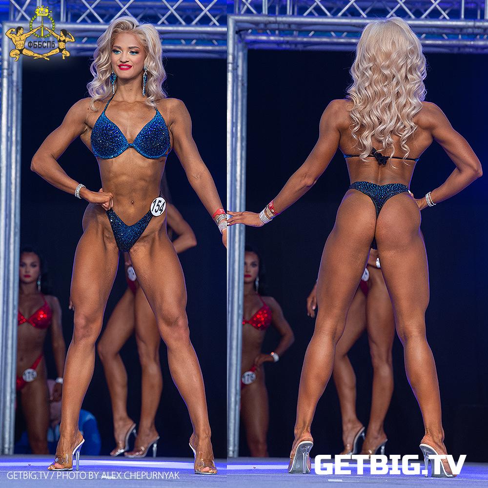 Кристина Кудинова - Чемпионка Санкт-Петербурга - 2020 (фитнес-бикини юниорки)