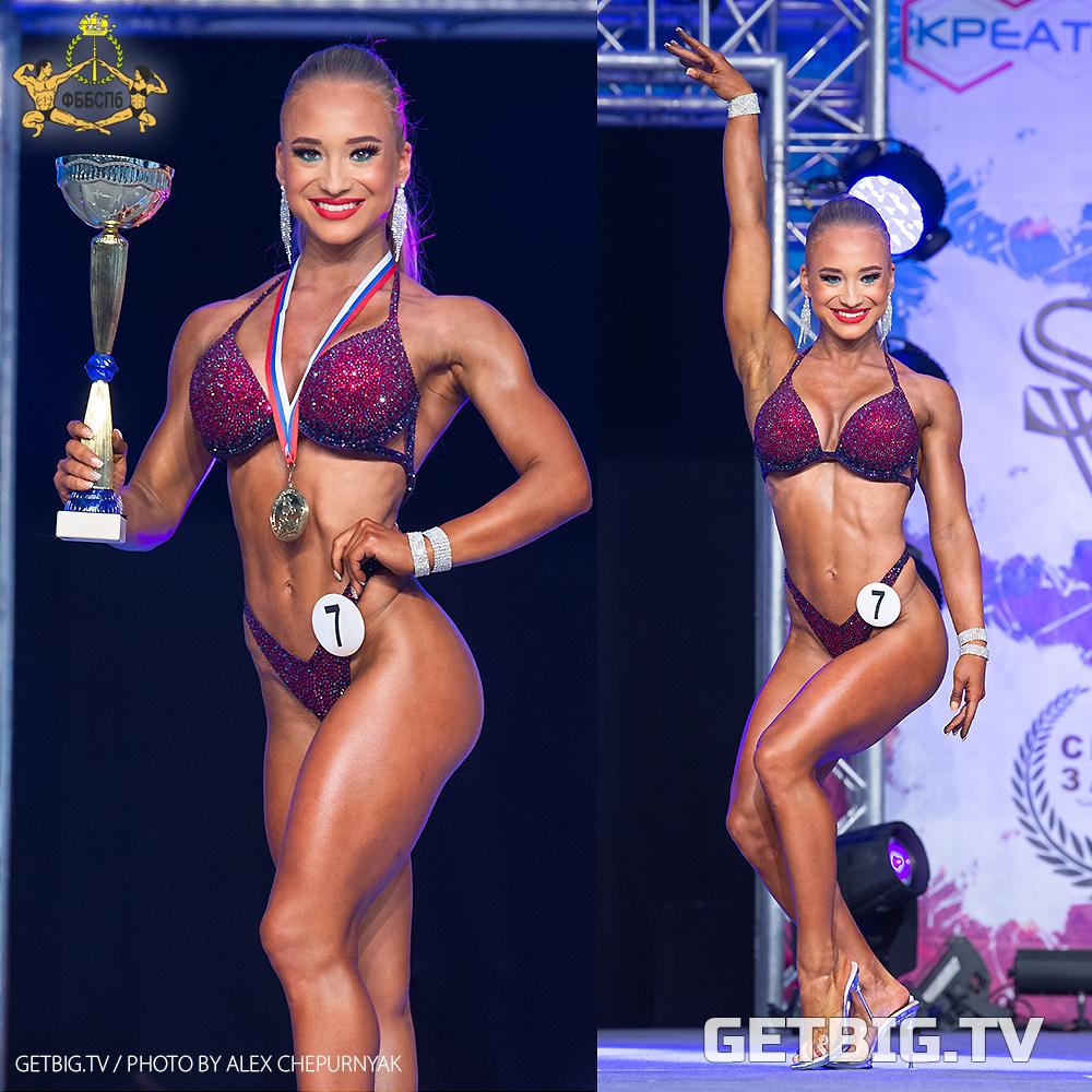 Элина Лукашина - чемпионка Санкт-Петербурга по фитнесу - 2020
