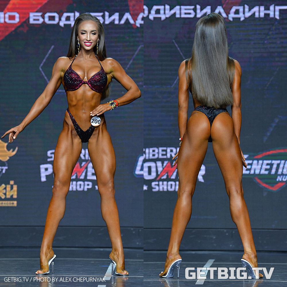 Валерия Федоренко - чемпионка России - 2020 (фитнес-бикини, +172 см)