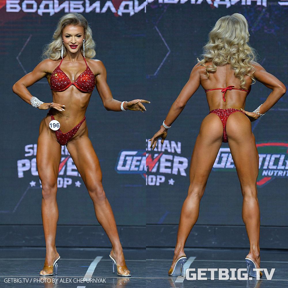 Ольга Хасанова - чемпионка России - 2020 (фитнес-бикини, 172 см)
