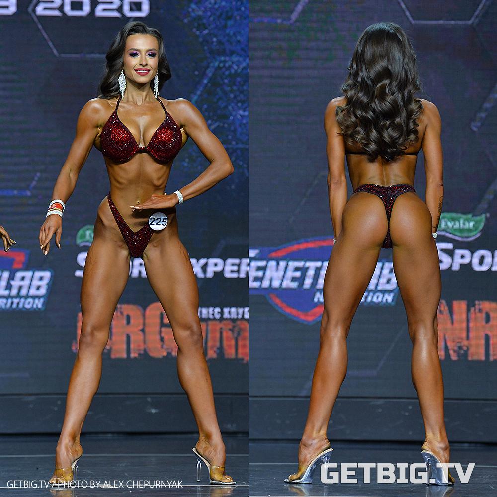 Татьяна Семенилкина - чемпионка России - 2020 (фитнес-бикини, 169 см)