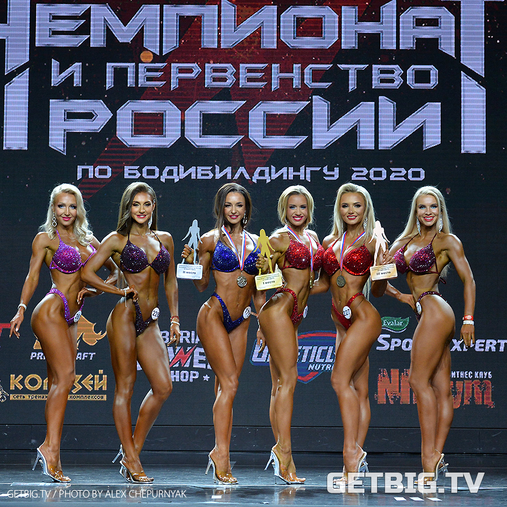 Людмила Иванова - чемпионка России - 2020 (фитнес-бикини, 166 см)