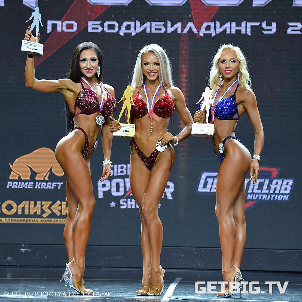 Яна Белянская - чемпионка России - 2020 (фитнес-бикини, 164 см)