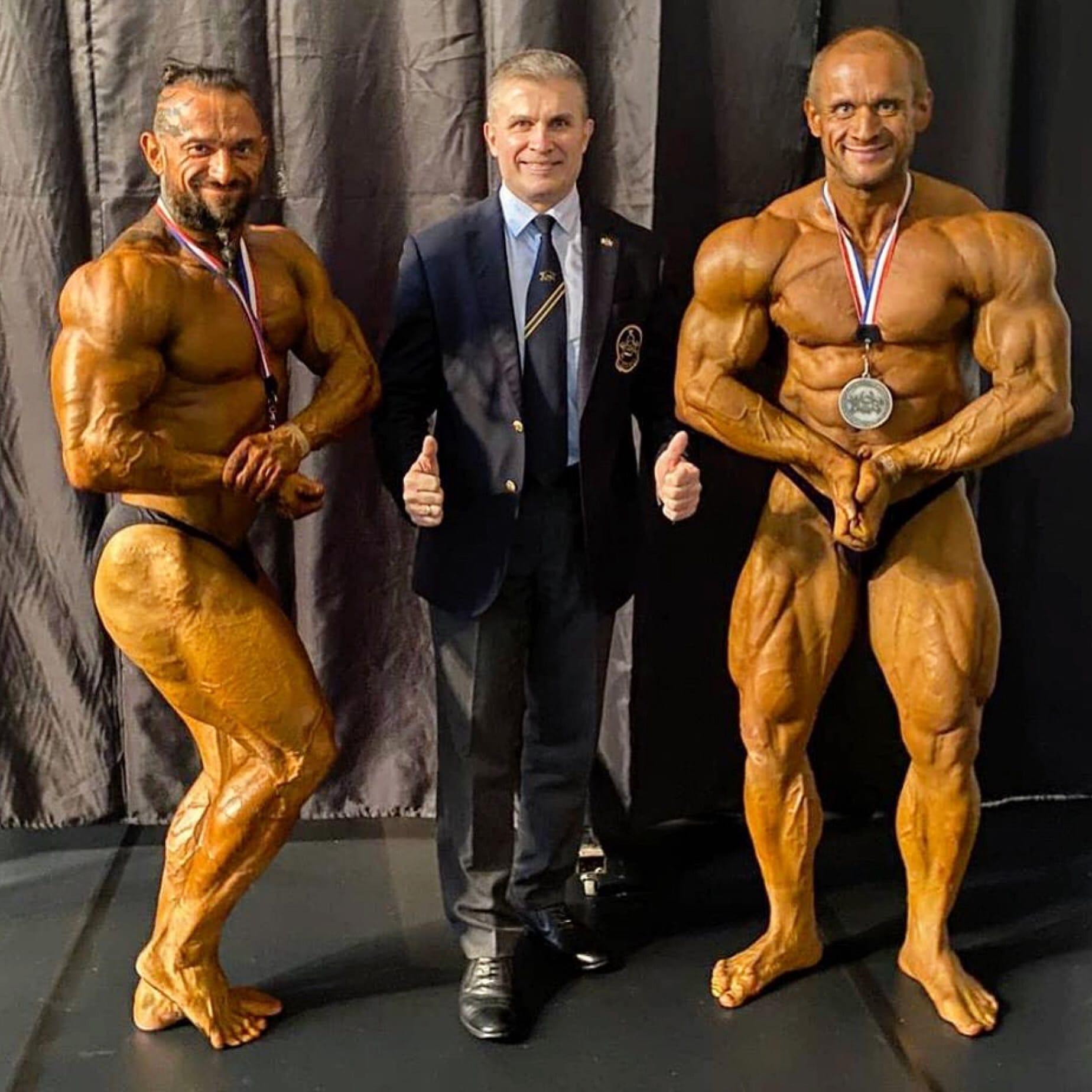 Серебряные призёры Чемпионата мира - 2020 Андрей Сычев и Андрей Леонов