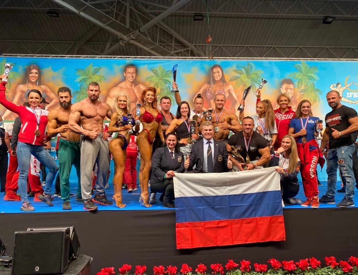 Сборная России по бодибилдингу - 2020