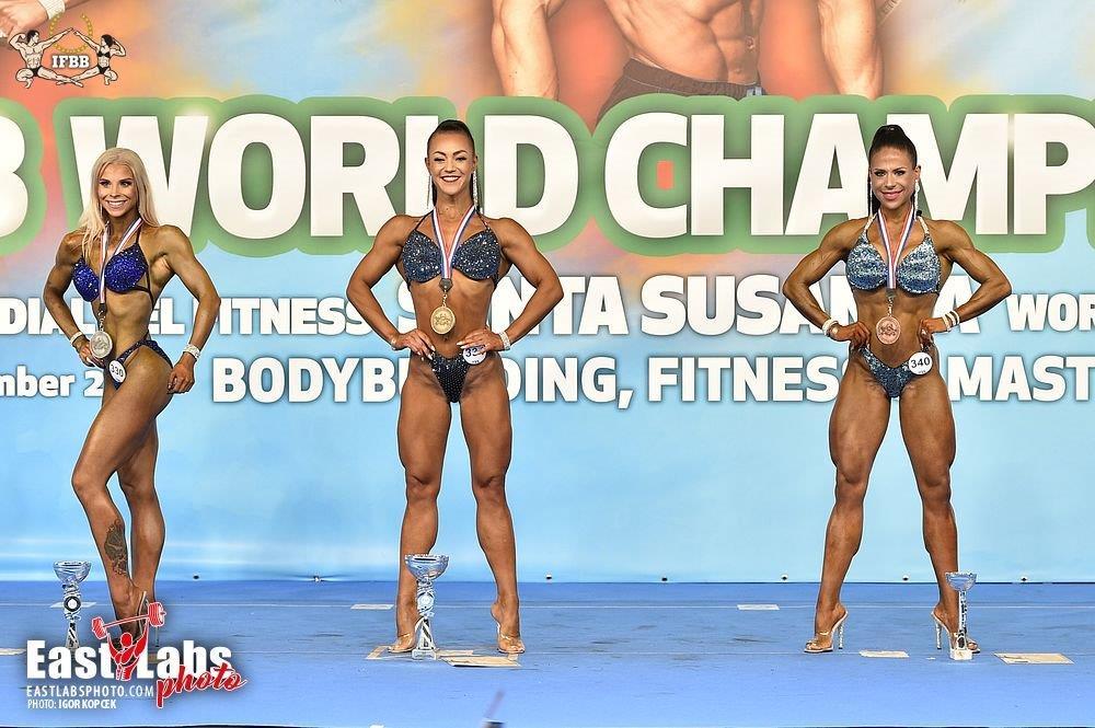 Татьяна Мандолина - золото чемпионата мира - 2020 (бодифитнес,  163 см)